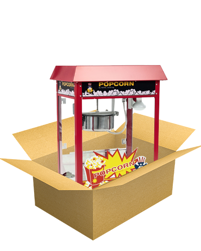 Popcornmaschine in Box