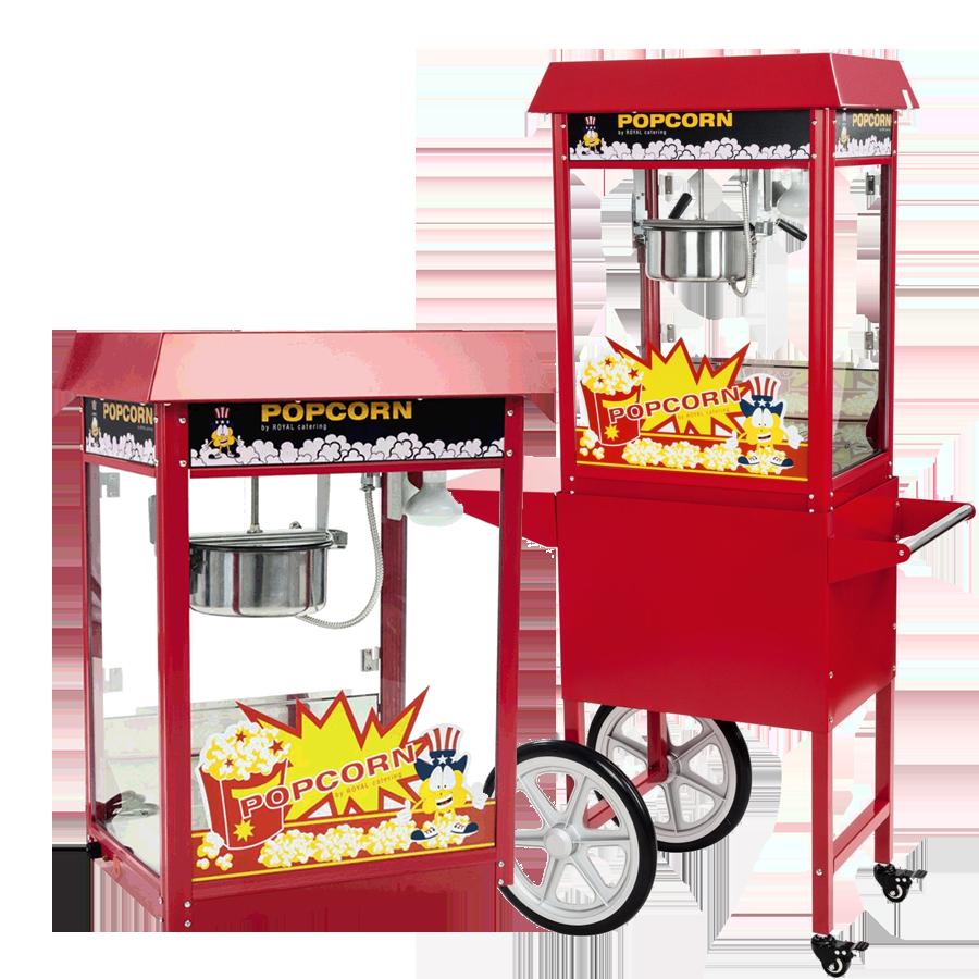 Popcornmaschine wagen trans groß