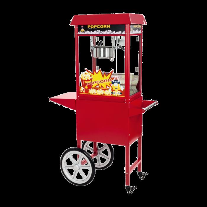 popcornmaschine mit wagen trans
